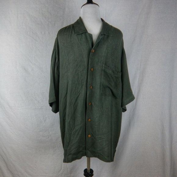 Tommy Bahama Other - Tommy Bahama Hualalai 100% Silk Shirt Size Large